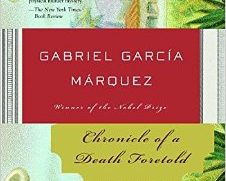 Chronicle of a Death Foretold a book by Gabriel García Márquez